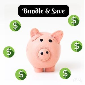 FREE shipping on bundles of $50!
